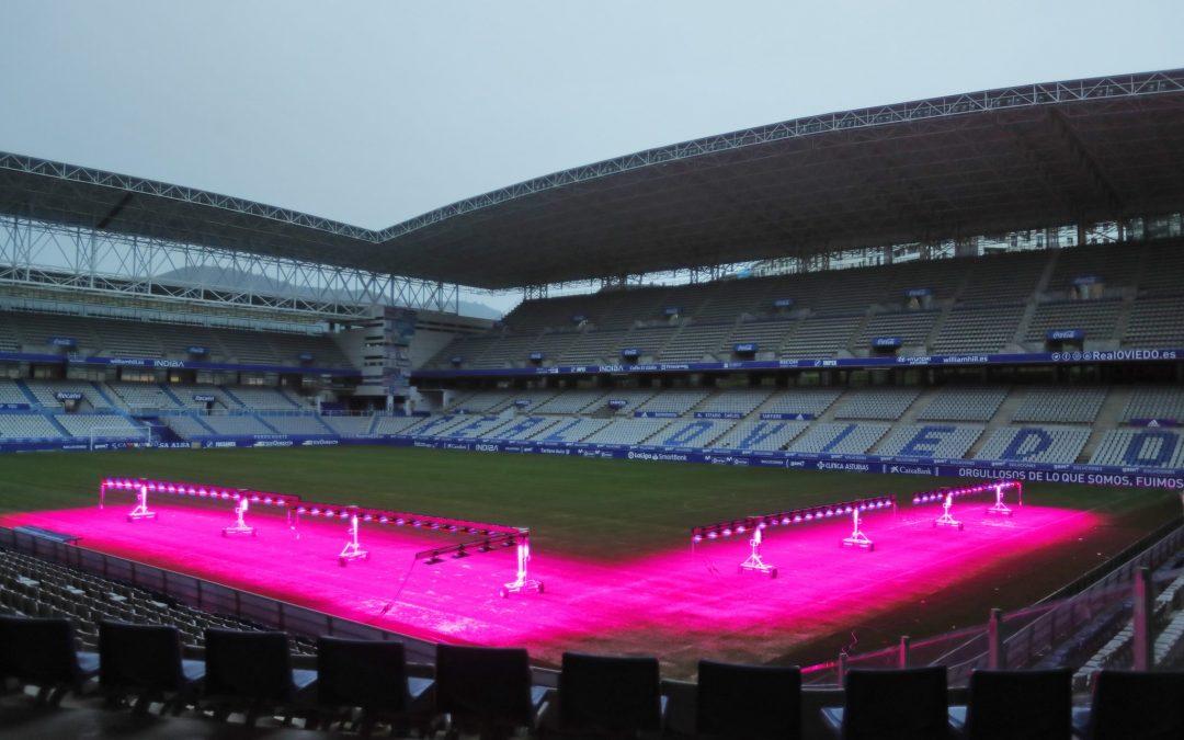 Andled Progrow Systems en el Estadio Carlos Tartiere
