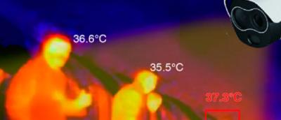 """Andled Energy presenta su sistema certificado para """"control de accesos"""" mediante cámaras de medición de temperatura corporal"""