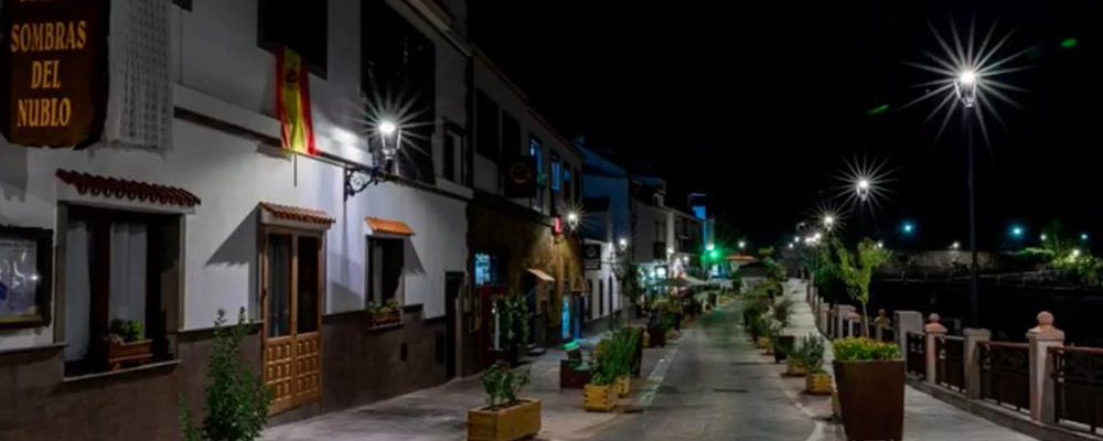 Andled colabora con municipios españoles en la iluminación de sus calles
