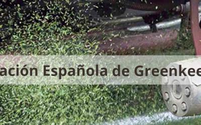 Andled, miembro de la Asociación Española de Greenkeeprs