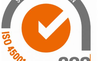 Andled obtiene la certificación ISO 45001